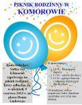 Piknik Rodzinny z okazji Dnia Dziecka – Komorów 2013