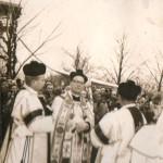 rok ........ uroczystości kościelne na terenie Komorowa