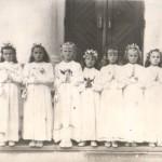 rok 1965 pierwsza komunia Święta
