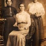 trzy pania 1917
