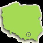 mapa polski komorow