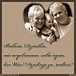 Zaproszenie na uroczystość z okazji dnia Babci i Dziadka